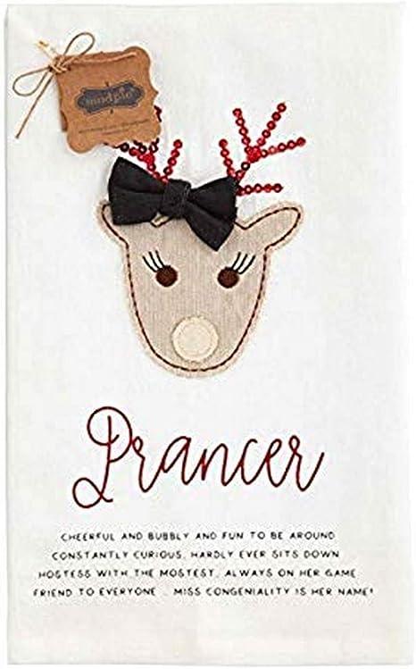 Reindeer Names Christmas Kitchen Flour Sack Towel Cleaning ...