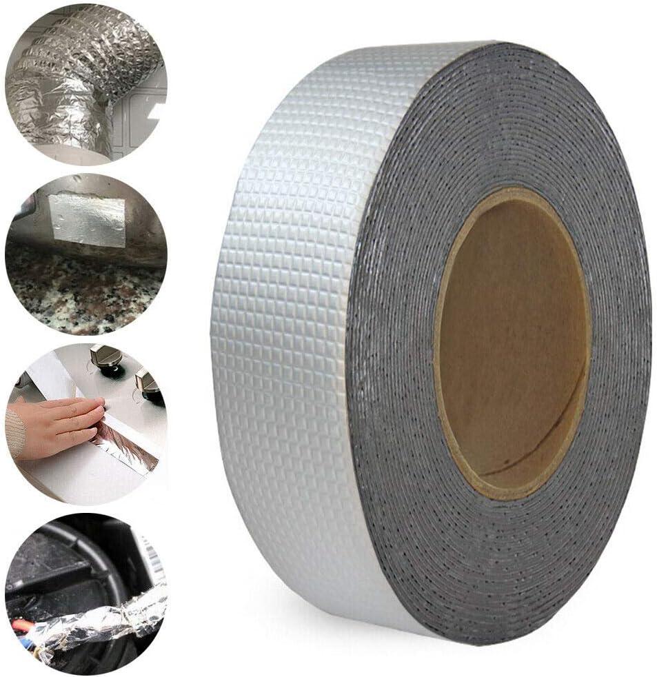 7.8cm*25m Super starkes wasserdichtes Klebeband Butyl Seal Gummi Aluminiumfolienband
