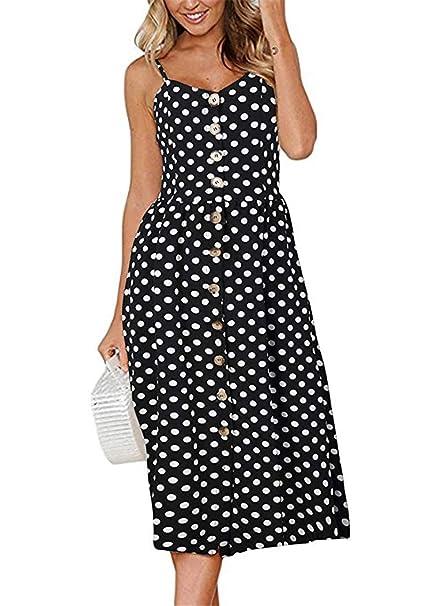 Amazon.com: Kay SINN Vestidos de verano para mujer, vestidos ...