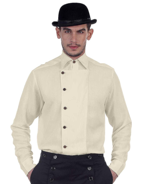 Steampunk Victorian Cosplay Linen Shirt