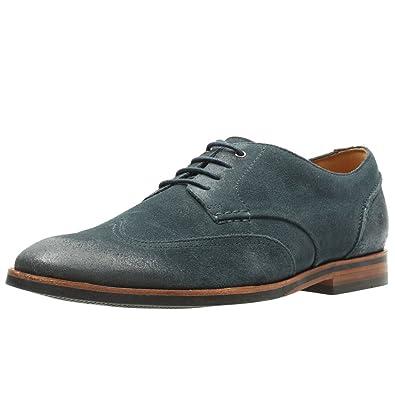 98911d12df3 Clarks Classique Homme Chaussures Broyd Wing En Daim Bleu Taille 44 ...