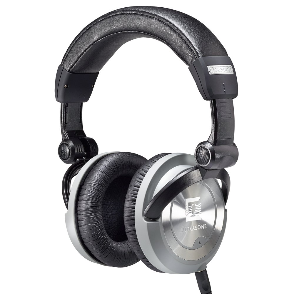 Ultrasone PRO 550I Studio Headphones, Black