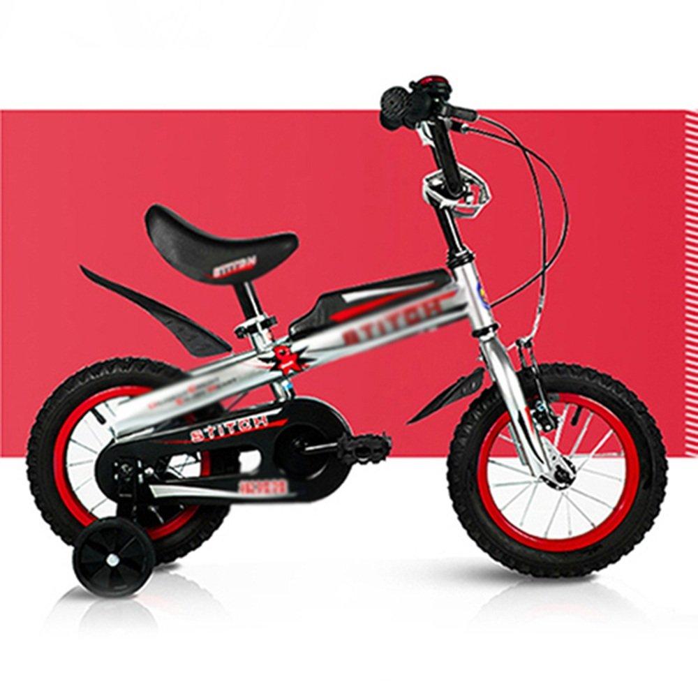 マチョン 自転車 子供用自転車は、2つの色で来る - サイズ12、取り外し可能なスタビライザー付き14inch B07DS7D74Q 12 inch - red 12 inch - red