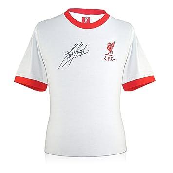 exclusivememorabilia.com Camiseta de fútbol Liverpool lejos firmada por Kevin Keegan