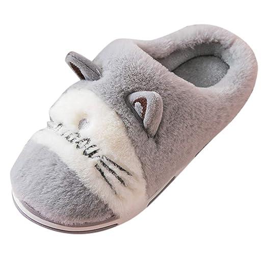 Mealeaf ❤️ Zapatillas de Estar en casa para niños con ...