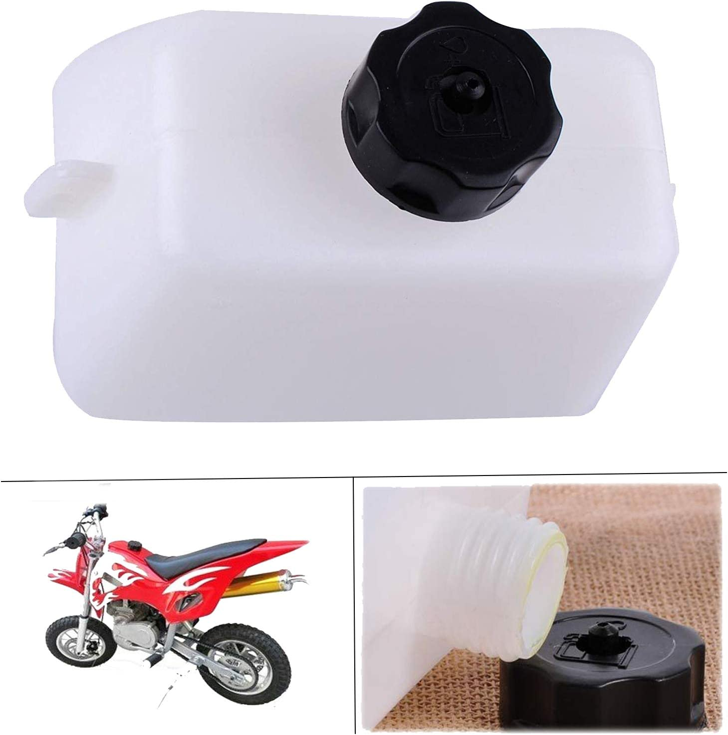 New 43cc 49cc Gas Tank W Cap Short Fuel Line 2 Stroke Engine Stand Up Scooter