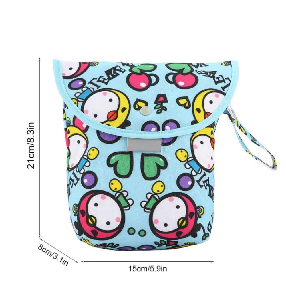 Portable Travel Mummy Wet Dry Bags Waterproof Baby Diapers ...