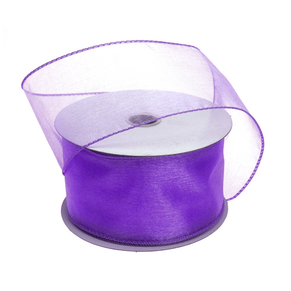 Homeford FJT0000090344011 Ribbon, 2-1/2'', Purple