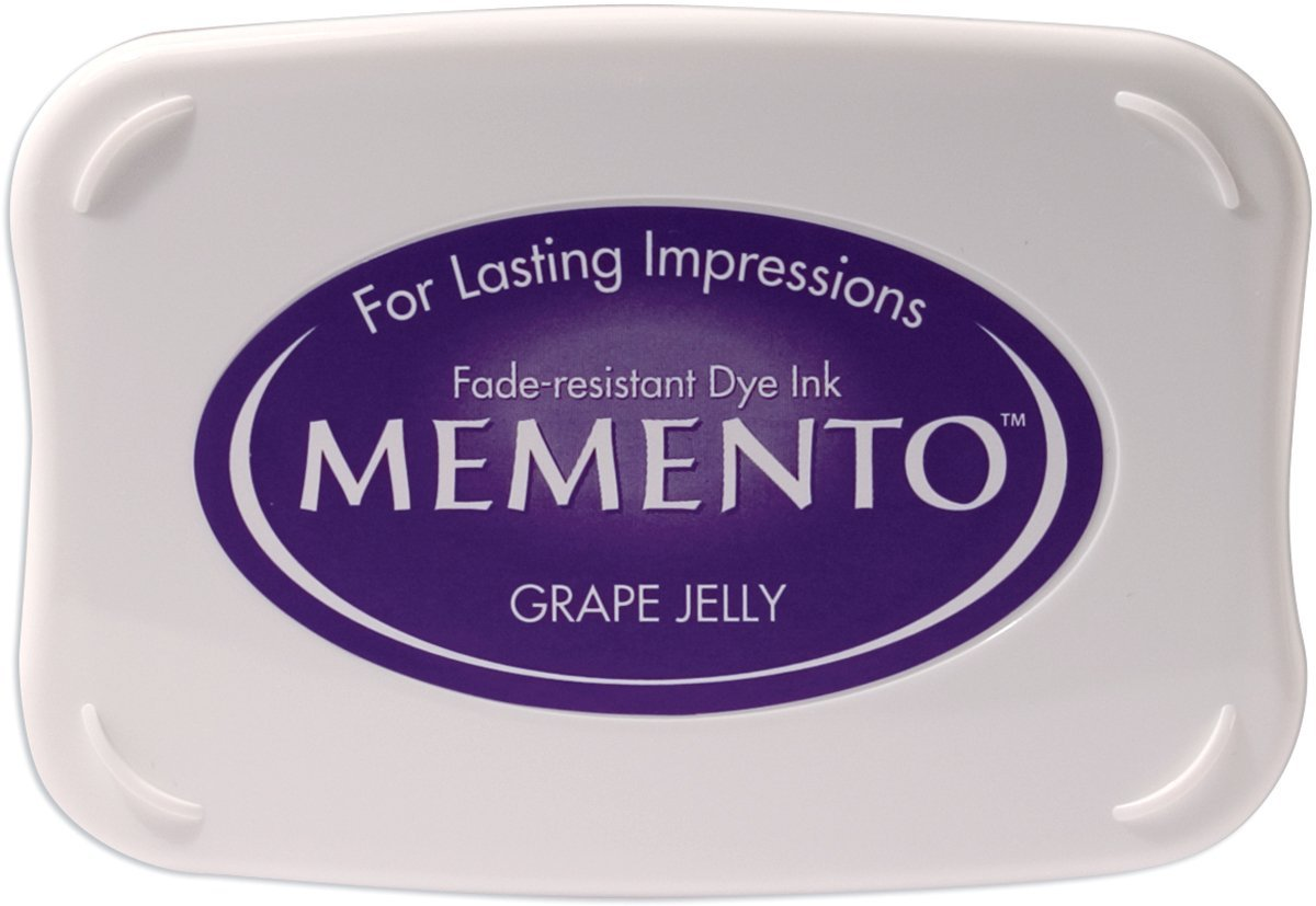 Tsukineko tamponi di Inchiostro Memento Grape Jelly