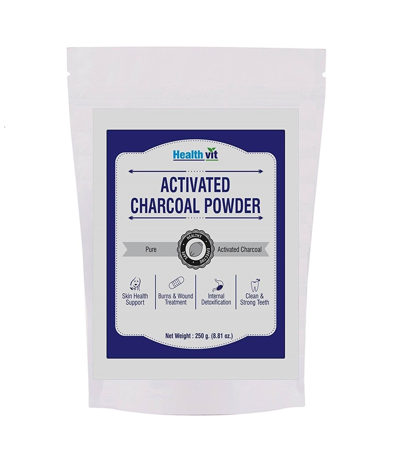 Healthvit Activated Charcoal Powder
