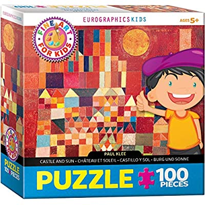 Eurographics 6100 0836 Castle And Sun By Paul Klee Puzzle