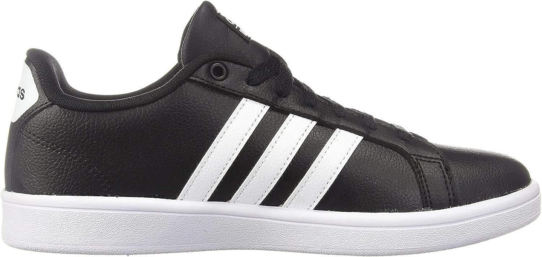 Adidas Herren Cf Advantage Turnschuh Schwarz Weiß Weiß