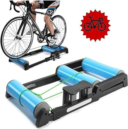 QXT Entrenador de Bicicleta Plegable - Rodillos de Bicicleta ...