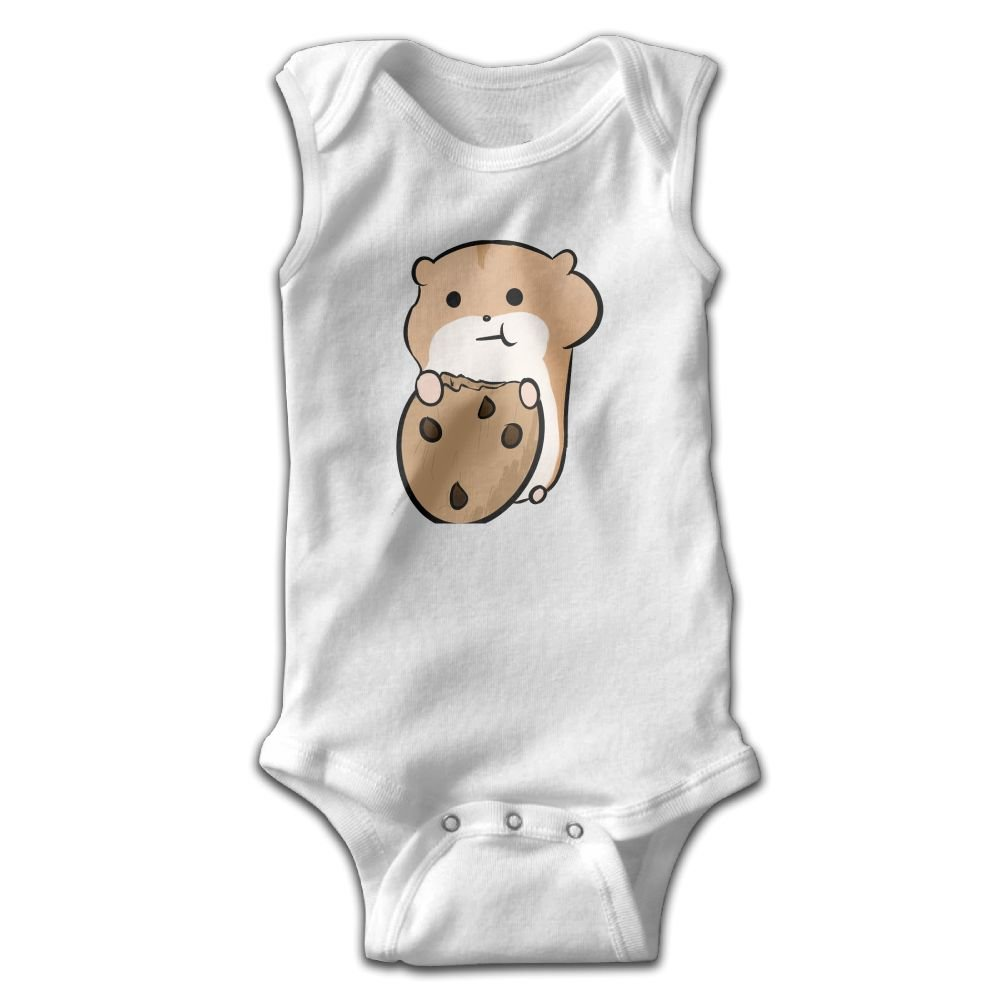 Crali Hamster Sleeveless Bodysuits Rompers Outfits
