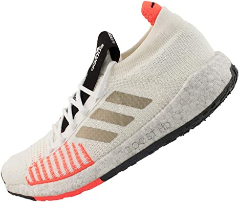 Melancolía jerarquía instructor  adidas PulseBOOST HD Running Shoes - AW19-6 White: Amazon.co.uk: Shoes &  Bags