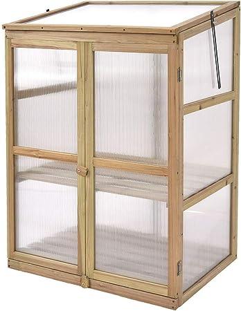 Giantex Portable Wooden Greenhouse
