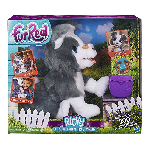 - FurReal Friends E0384 Ricky My Little Dog Interactive Soft Toy