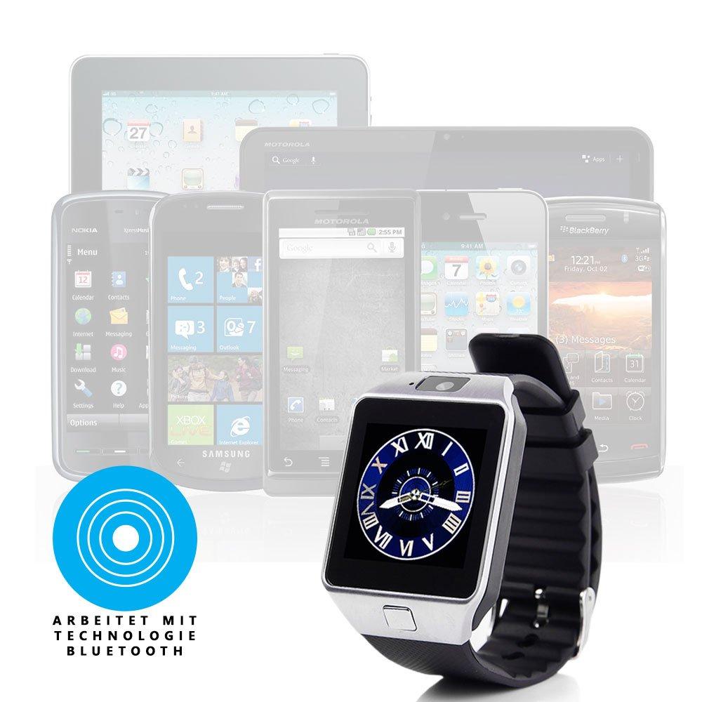 Global Technology GT dz09 Bluetooth Smart Watch Reloj de ...