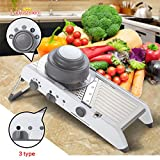 Dishwasher V Hand Washing LEKOCH Manual adjustment blade Mandoline Slicer