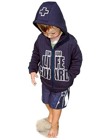 73a2ded3f6 SEESTERN Kinder Kapuzen Sweat Jacke Junior Lifeguard Hoody Sweater 92-152:  Amazon.de: Bekleidung