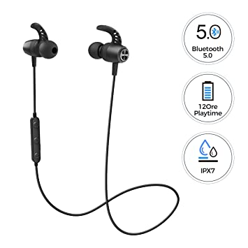 MPOW S16 Auriculares inalámbricos deportivos 12H Playtime ...