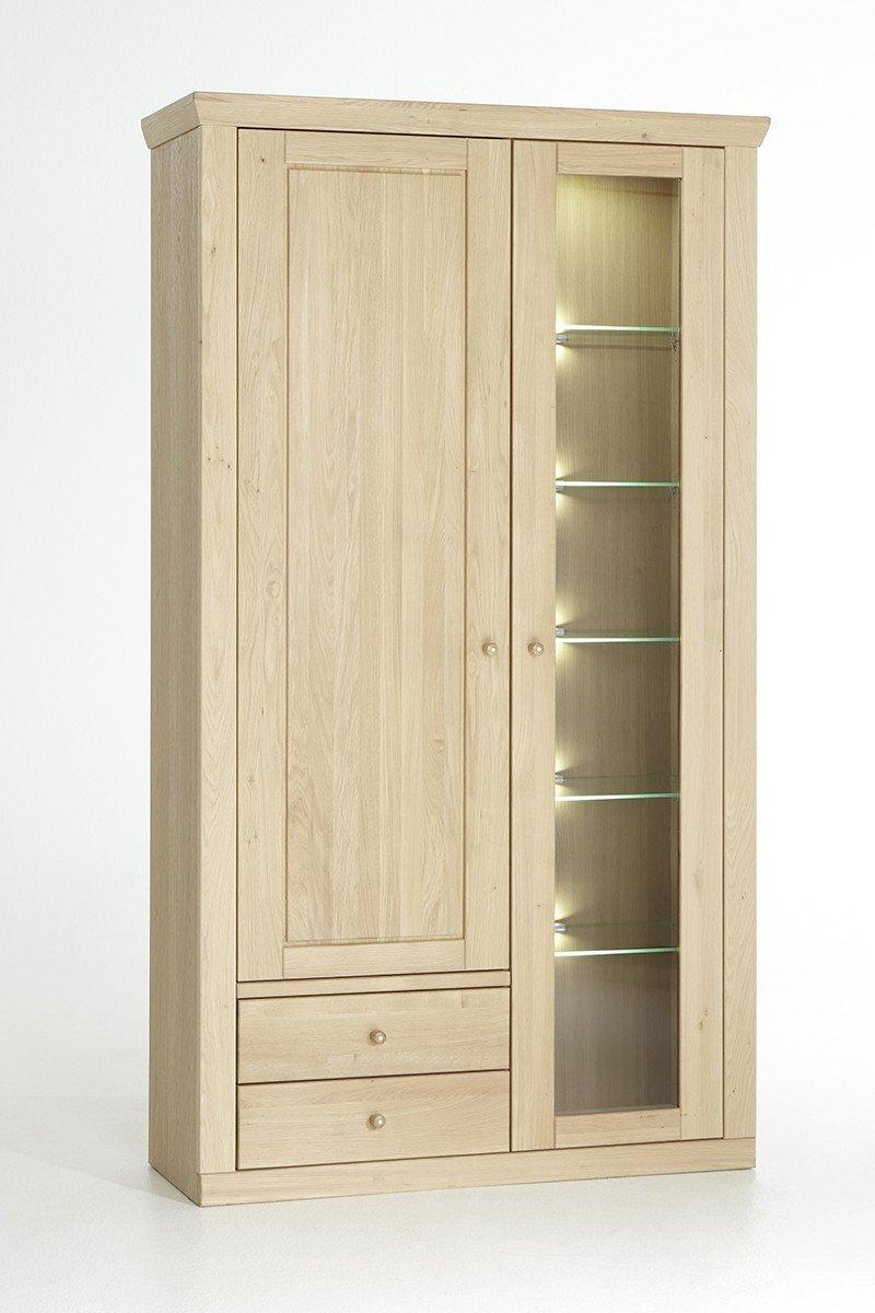 sch n wohnzimmerschrank eiche massiv bilder wohnzimmer dekoration ideen. Black Bedroom Furniture Sets. Home Design Ideas