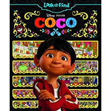 Disney-Pixar Coco Look and Find Hardcover Book 9781503725027 10/10/17