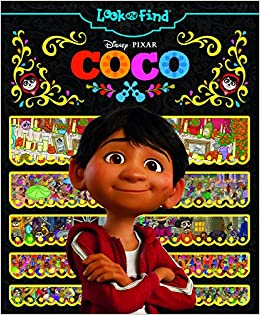 Disney Pixar Coco Look And Find Pi Kids Editors Of Phoenix