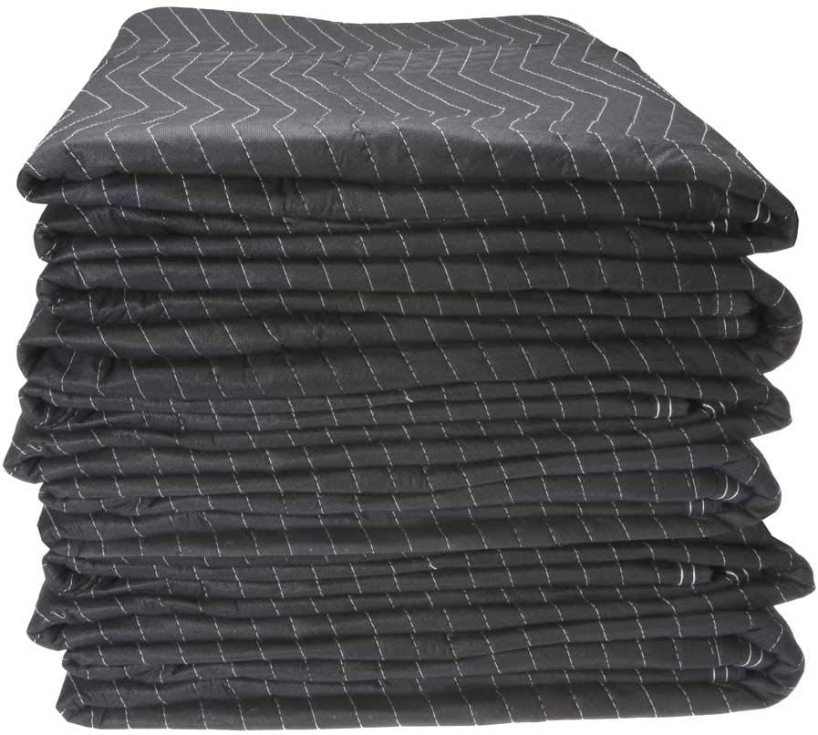 Econo Mover Furniture Pads | 4.5 Pounds Each (54 Pounds Per Dozen) | 72 inch x 80 inch | Black Furniture Pads | 6 Furniture Pads 61uRVQoUgkLSL1000_