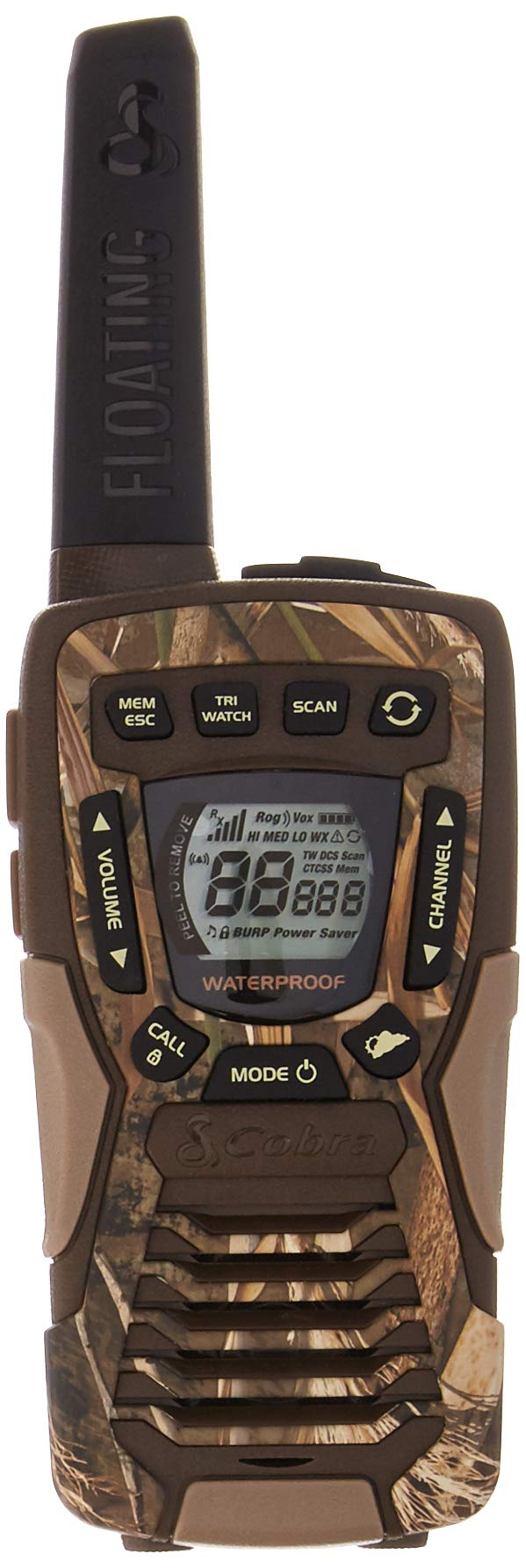 Cobra ACXT1035R FLT CAMO Walkie Talkies 37-Mile Two-Way Radios with Rewind-Say-Again (Pair) by Cobra (Image #1)