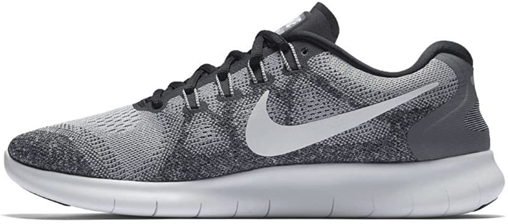 Nike Free RN 2017, Chaussures de Running Homme Gris Wolf Grey Off White Pure Platinum Black 002