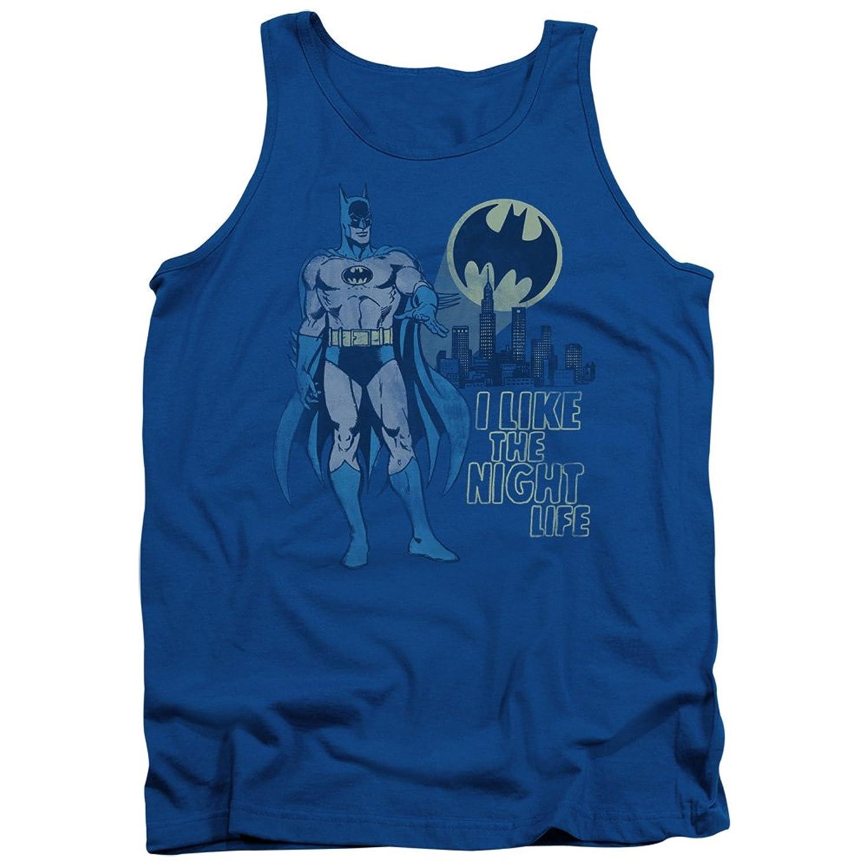 DC Comics Superhero Batman Night Life Adult Tank Top Shirt