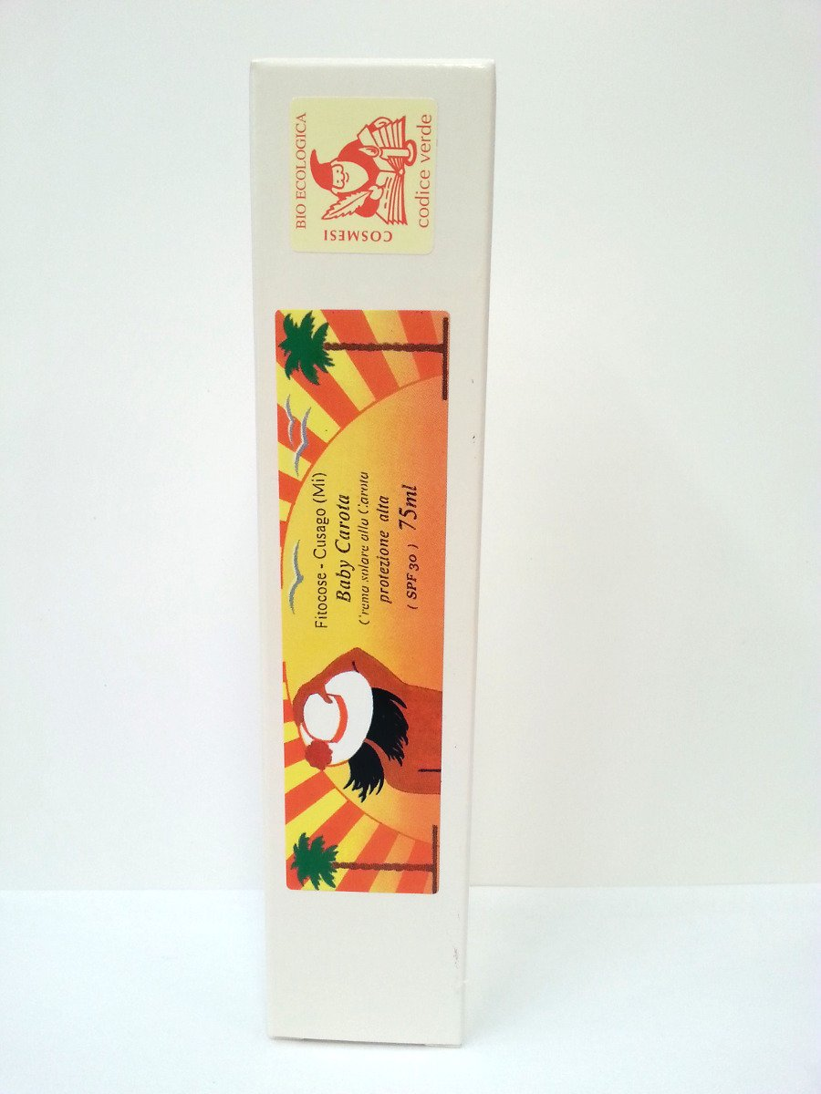 Baby Carota - Crema Solare alla carota SPF 30 Fitocose