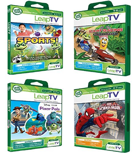 LeapFrog LeapTV Active Video Learning Toys - Ultimate Spiderman