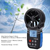 Wal front 866B-WM Handheld Digital Wind Speed Meter Air Speed Gauge Meter Windmeter Temperature Tester Portable Measuring