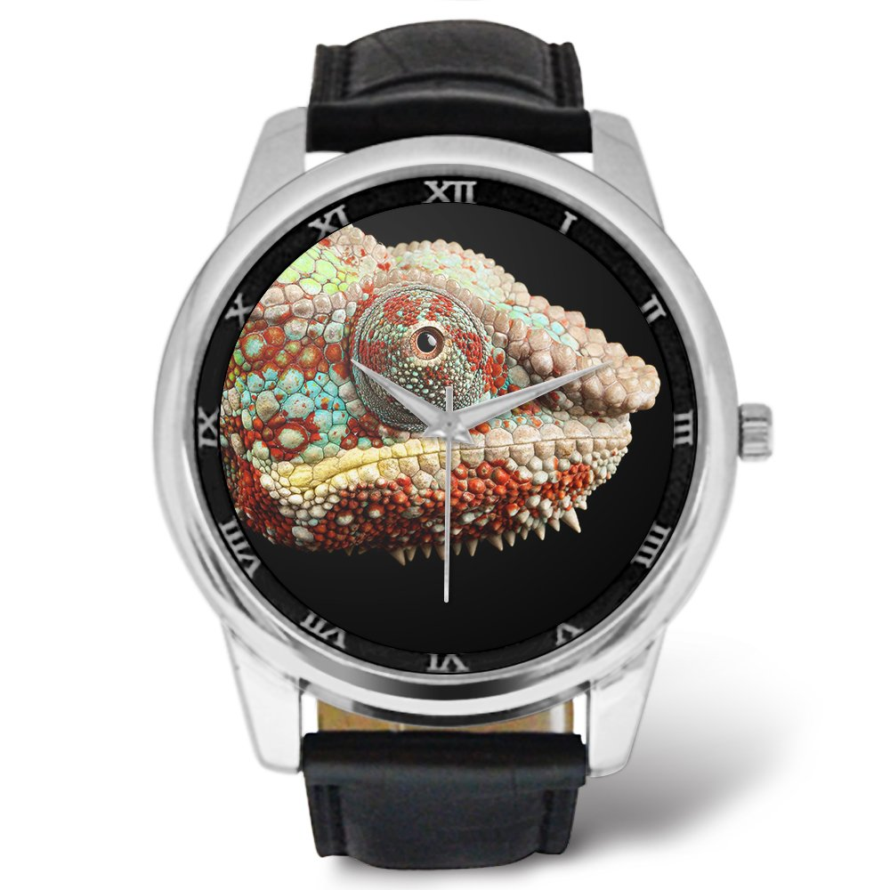 0cefcc0893360 Amazon.com  Watch for Father Day Birthday Gifts - Lizard Chameleon ...