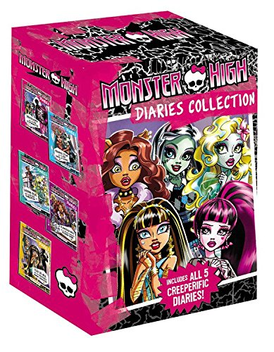 Monster High Main Characters (Monster High Diaries)