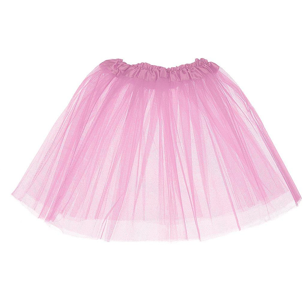 cb44439d1d51 Girls Kids 3-Layered Tutu Fancy Mini Skirt Summer Party Dancewear ...