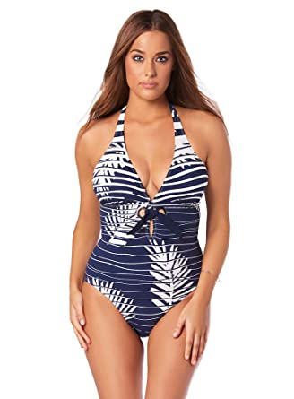 b28d73a4659 Miraclesuit Women's Amoressa A Venetian Affair Fortuny One-Piece New Moon 6  at Amazon Women's Clothing store: