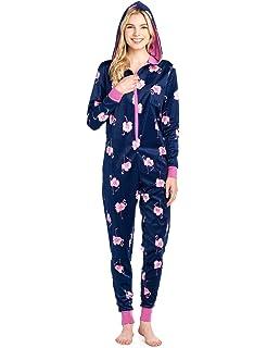 9eb7e7f6c0d81 Amazon.com  Metzuyan Ladies Novelty Flamingo Pyjama All in One One ...