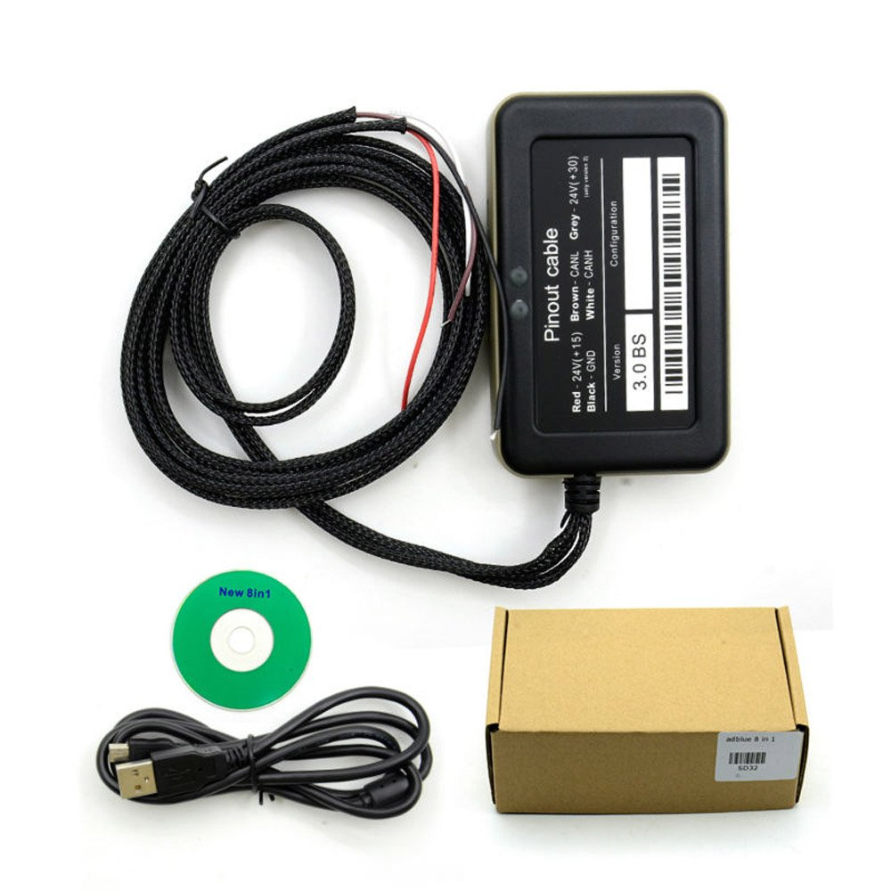 80%OFF 2017Nouveau Camion Adblue Adblue Émulateur 8en 1avec capteur de NOX Adblue Émulateur 8en 1Camion Outil de diagnostic