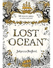 Lost Ocean Postcard Edition: 50 Postcards to Colour and Send