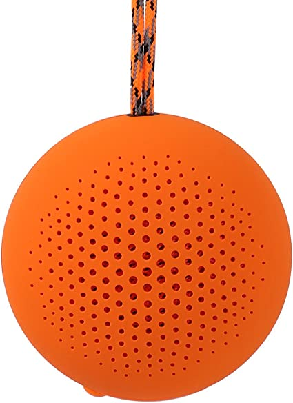 Compact Outdoor Activities BOOMPODS AQUAPOD Waterproof Bluetooth Speaker Or Shower Rechargeable /& Portable Wireless Speaker for Travel Powerful Mini Bass /& Mountable Speaker with Mic