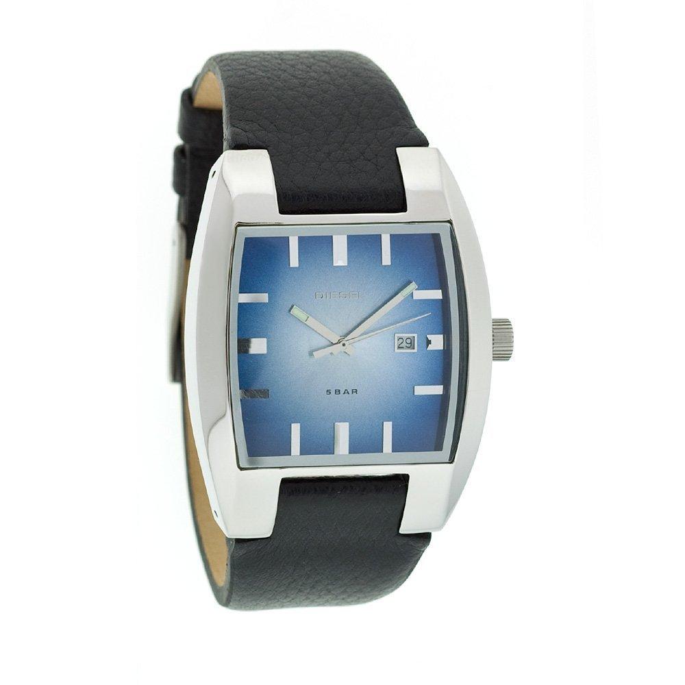 Diesel DZ1195 Gents Analogue Black Leather Strap Watch: Amazon.co.uk:  Watches