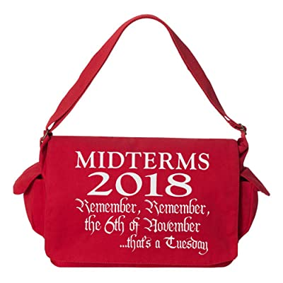 Tenacitee Midterms 2018, Remember the 6th Brushed Canvas Messenger Bag
