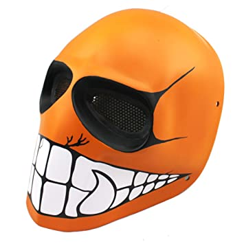 Diseño de la naranja mecánica Smile disfraz de las máscaras de Paintball Army of Two equipo