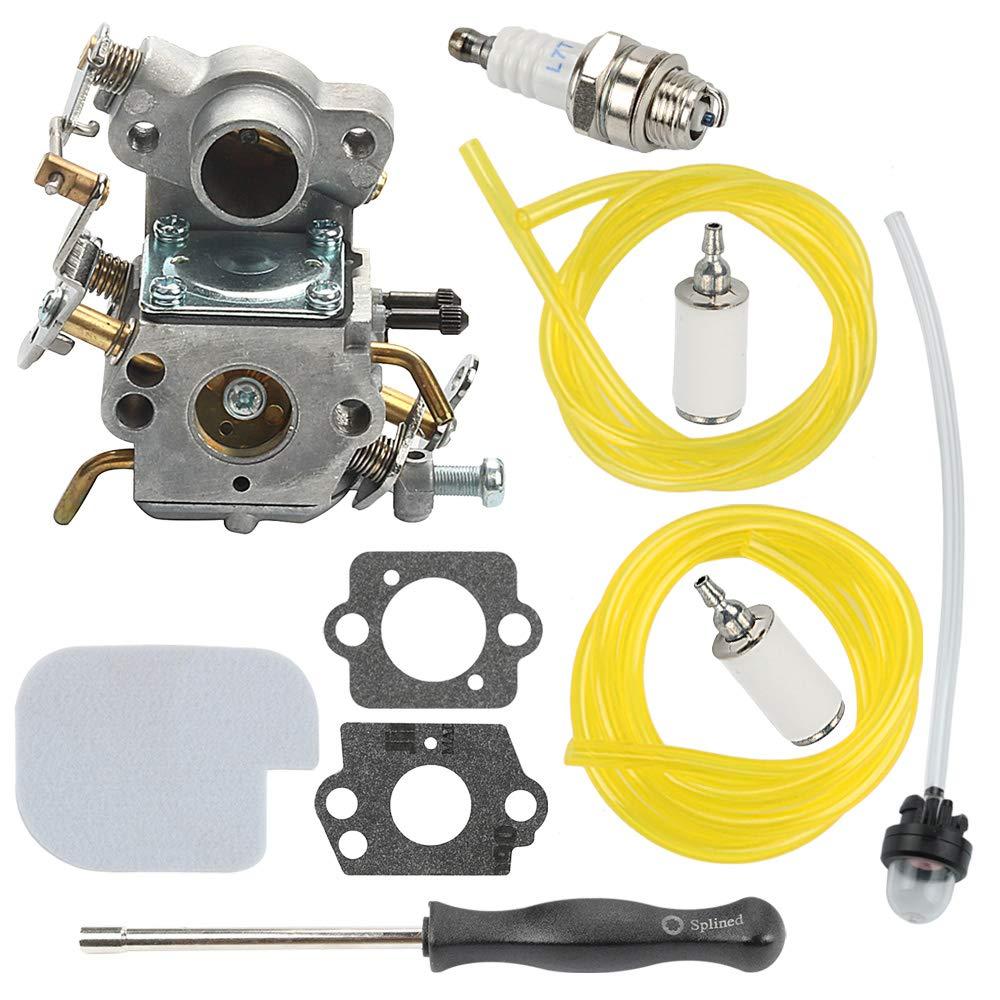 Mckin C1M-W26C P3314 Carburetor fits Poulan Pro P3416 P4018WM P4018WT P4018 PP3516AVX PP3816 PP4018 PP4218A PP4218AVX PP4218 PPB3416 PPB4218 P3314WSA Chainsaw Parts 545070601 by Powtol