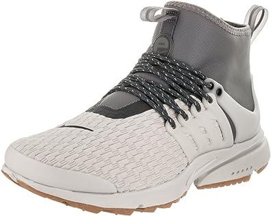 Nike Womens Air Presto Mid Utility PRM LightBoneLightBone Running Shoe 10 Women US