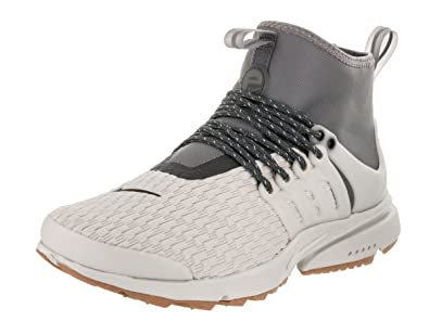 new arrival 9d80a d1e1f NIKE Women's Air Presto Mid Utility PRM Light/Bone/Light/Bone Running Shoe  8 Women US