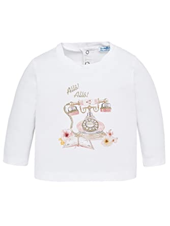 63476a961 Amazon.com: Mayoral - L/s Printed t-Shirt for Baby-Girls - 2050 ...